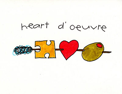heart d' oeuvre