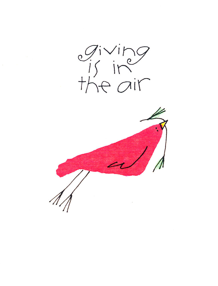 Giving is in the Air