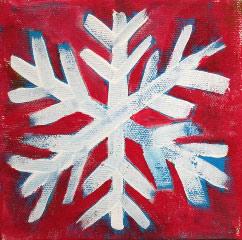 Acrylic Originals – Snowflake