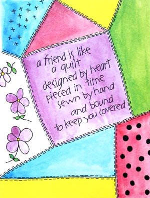A Friend is Like a Quilt
