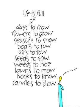 Life is Full of Days to Crow