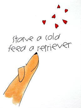 Starve a Cold, Feed a Retreiver