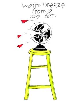 Warm Breeze from a Cool Fan