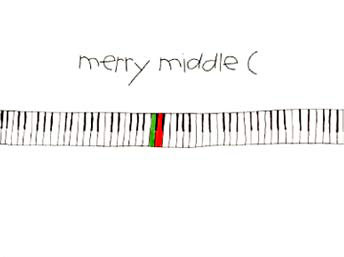 Merry middle c