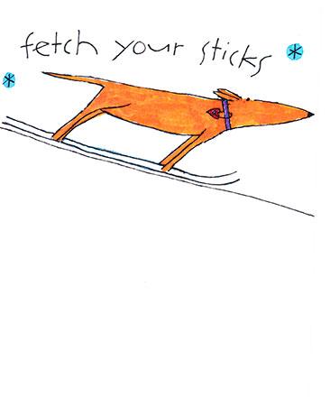 Fetch Your Sticks