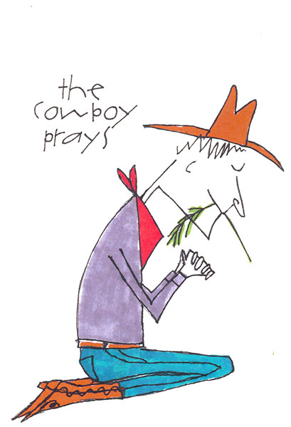 the Cowboy Prays