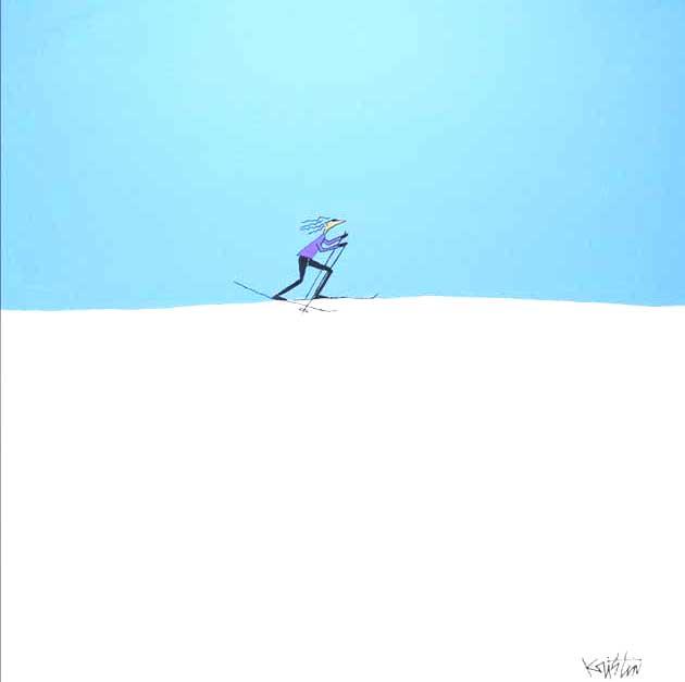 bluebird day acrylic original