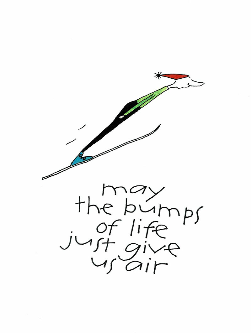 May the Bumps of Life