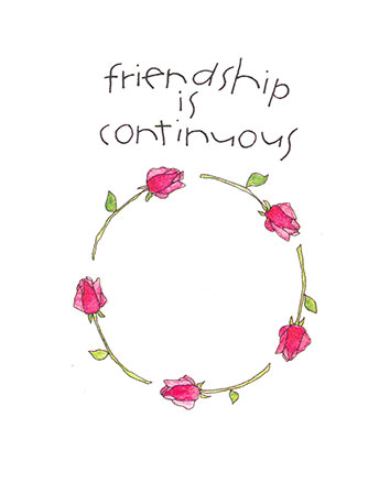 Friendship is continuous