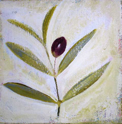 Acrylic Originals – Olive