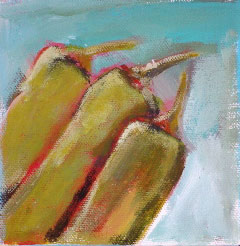 Acrylic Originals – Green Chiles