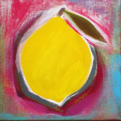 Acrylic Originals – Lemon