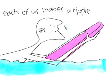Each of Us Makes a Ripple