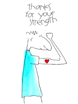 Thanks for Your Strength