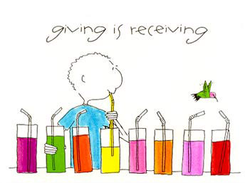 Giving is Receiving
