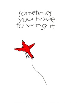 Sometimes You Have to Wing It