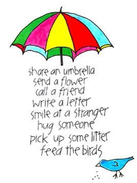 Share an Umbrella