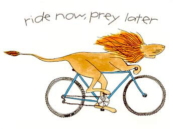 Ride now, prey later