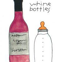 whine bottles
